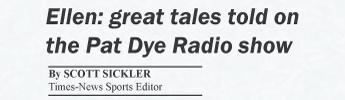 Ellen: Great tales told on the Pat Dye Radio Show